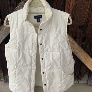Lands' End Quilted Vest-M